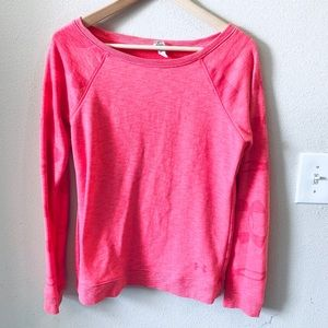 Under Armour | Pink Pull Over Sweater